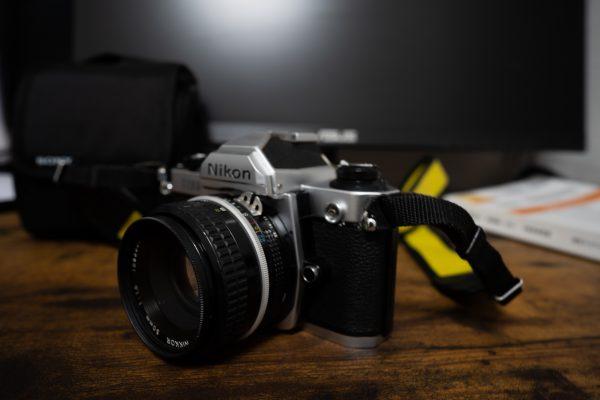 Nikon Fm2 with nikkor 50mm F1.8